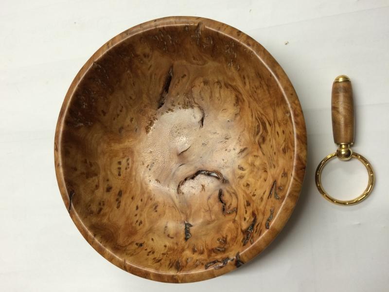 Burl bowl
